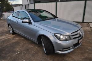 2012 MERCEDES-BENZ C250 2D COUPE CDI BE W204 MY12